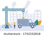 easy to edit vector... | Shutterstock .eps vector #1742232818