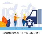 easy to edit vector... | Shutterstock .eps vector #1742232845