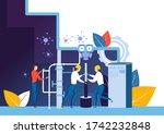 easy to edit vector... | Shutterstock .eps vector #1742232848