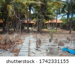 gili meno view to abandoned... | Shutterstock . vector #1742331155