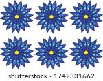 different patterns created from ...   Shutterstock .eps vector #1742331662