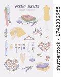 hand drawn vector clipart...   Shutterstock .eps vector #1742332955