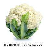 Cauliflower Vegetable Isolated...