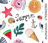 Summer 2021 Seamless Pattern...