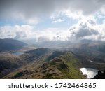 View From Half Way Up Snowdon...
