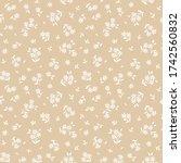 simple cute pattern in small... | Shutterstock .eps vector #1742560832