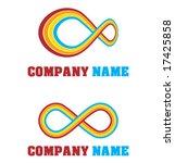 set of abstract logos   vector...   Shutterstock .eps vector #17425858