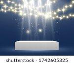 scene for the award ceremony.... | Shutterstock .eps vector #1742605325