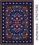 floral carpet design   Shutterstock .eps vector #174275282
