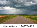 Road To Dramatic Storm Scene...