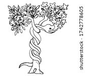tree of the knowledge of good...   Shutterstock .eps vector #1742778605