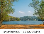 Geumgwang Lake With Mountains...
