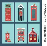 christmas card with english... | Shutterstock .eps vector #1742902202
