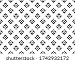 abstract geometric pattern. a... | Shutterstock . vector #1742932172