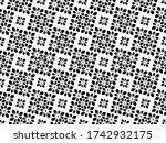 flower geometric pattern.... | Shutterstock . vector #1742932175