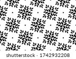 flower geometric pattern.... | Shutterstock . vector #1742932208