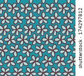 seamless pattern can be used... | Shutterstock .eps vector #174297812