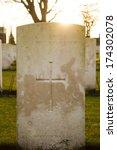 Cemetery World War Flanders...