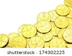 St Patricks Day Gold Coin...