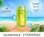 refreshing soft drink ads... | Shutterstock .eps vector #1743042062
