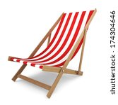 Beach Chair. 3d Illustration O...