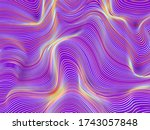 abstract background with... | Shutterstock .eps vector #1743057848