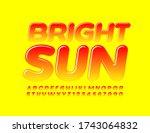 vector creative emblem bright... | Shutterstock .eps vector #1743064832