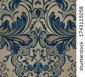 Seamless Pattern Of Decorative...