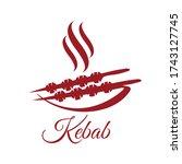 Kebab Logo  Kebab Meal Symbol