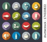 food icon set | Shutterstock .eps vector #174320822