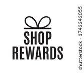 shop rewards  clearance  sale...   Shutterstock .eps vector #1743343055
