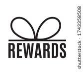 shop rewards  clearance  sale...   Shutterstock .eps vector #1743358508