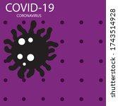 covid 19  coronavirus concept...   Shutterstock .eps vector #1743514928