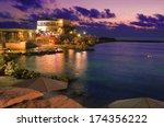 Caesarea Harbor And The...