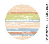 abstract circle vector...   Shutterstock .eps vector #1743621035
