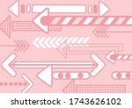illustration set of colorful... | Shutterstock .eps vector #1743626102