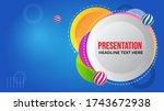 modern abstract presentation...