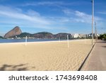 Flamengo Beach In Rio De...