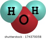 water is a well known solvent.... | Shutterstock . vector #174370058