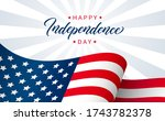 independence day greeting card... | Shutterstock .eps vector #1743782378