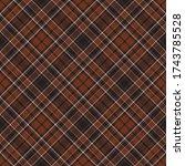 tartan scotland seamless plaid... | Shutterstock .eps vector #1743785528