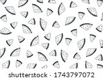 vector background with... | Shutterstock .eps vector #1743797072