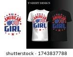 All American Girl T Shirt.4th...