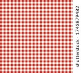 red and white pattern. texture... | Shutterstock .eps vector #1743879482