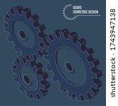 modern vector illustration of... | Shutterstock .eps vector #1743947138