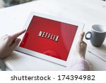 hilversum  netherlands  ... | Shutterstock . vector #174394982