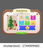 pop up window daily bonus for...