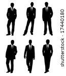 4 businessmen | Shutterstock .eps vector #17440180