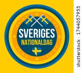 Independence Day Of Sweden....