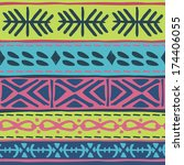 tribal pattern | Shutterstock . vector #174406055